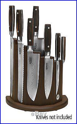 Kitchen Knife Magnetic Storage Block Case Pocket Holder Carrying Display Knives