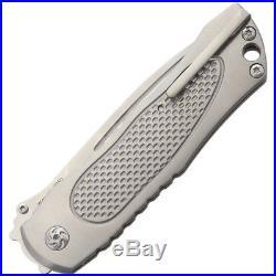 Kizer Cutlery Wakulla Folding Knife with Camo nylon zippered storage case