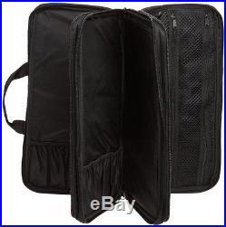 Knife Bag Case 18 piece Cases Storage Protectors Holders cooks Chef Black