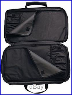 Knife Case For 12 Knives Victorinox Executive, Black storage holder cutlery