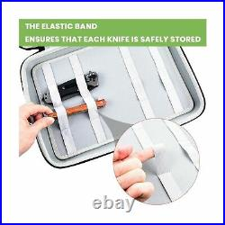 Knife Case for Pocket Knives, Displaying Storage Box and Carrying Organizer H