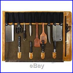 Knife Cases Holders & Protectors Leather Roll Chef Storage Bag Aaron Moss