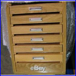 Knife Cases Holders & Protectors Storage/Display Tool Cabinet, With Drawers Wood
