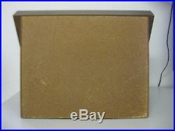 Knife Jewelry Display Case With Lockable Storage Shelf Wood Glass 21 x 16