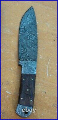 Knife King Helmand 1 Damascus Handmade Hunting Knife. Comes with a sheath