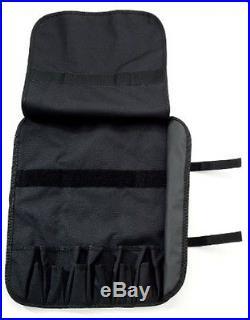 Knife Roll For 13 Knives Or Tools, Black Victorinox case storage holder bag NEW