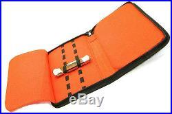 Knife Roll Pack Storage Case Velvet lined Pocket knives