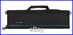 Knife Roll Padded Chef Portable Case Safe Pocket Storage Folding Knives Black