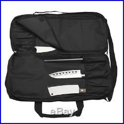 Knife Storage Bag Carrying Case Chef Protector Organizer Shoulder Strap Pocket