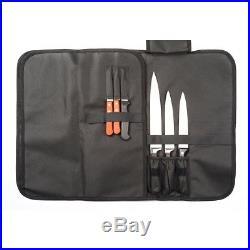Knife Storage Bag Carrying Case Soft Roll Storage Chefs 14 Slots Shoulder Strap