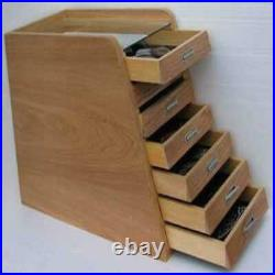 Knife Storage/Display Case Holder Cabinet, with drawers