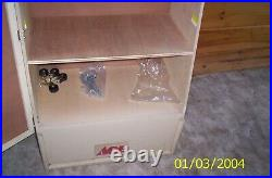 Knife case ACE hardware store display Case Buck Gerber plus 55 X 26 X 16 Inches