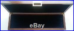 Knife case storage wood box new