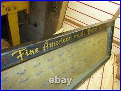 Late 1930s Remington Original knife Store Display Case Hardware Store Rare