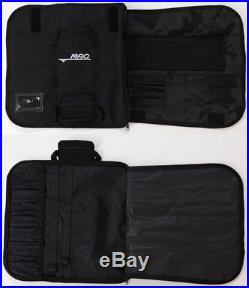 MAC Kitchen Knife Roll Bag KR-108 Black Storage Case 560g 50×6cm Polyester