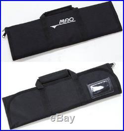 MAC Kitchen Knife Roll Bag KR-108 Black Storage Case 560g 50Ecm Polyester