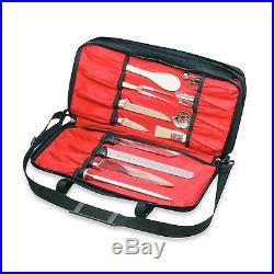 Mercer Zip Knife Case Cutlery Holder Culinary Storage Case Triple-Zip Adjustable