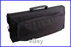 Messermeister 17Pocket Knife Case with Large Storage Pocket, Black NEW-Free S/H