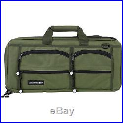 Messermeister 18 Pocket Knife Culinary Tool Storage Chef's Luggage Case, Olive