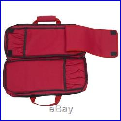 Messermeister 18 Pocket Meister Chef's Knife Storage Case / Luggage Red