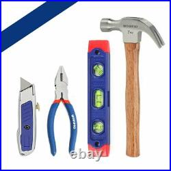 Metric Handy Set Tools Home Plier Knife Screwdriver Wrenches Hammer Storage Bags