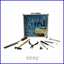 Model Craft 13pc model Rail craft Tool set Mini pliers craft knife storage case