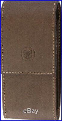 NIB Dovo Leather Case For Shavette Knife 570 050 Brown leather storage