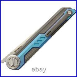 NOC Knives MT05 FATE Folding Knife 3.5 M390 Steel Tanto Blade Titanium Handle