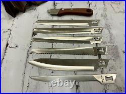 New Unused KERSHAW Blade Trader Survival 6 Knife Set VINTAGE 1970s Japan knives
