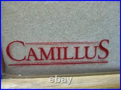 Original Camillus Store Display Wood & Glass Knife Display Case