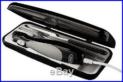 Oster FPSTEK2803B Electric Knife with Carving Fork and Storage Case