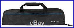 Padded Knife Roll Black Bag Roll Pocket Storage Wallet Durable Carrying Case