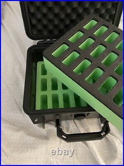 Pelican 1300 edc case, With 22 Knife Storage Foam