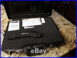 Pelican 1495 Laptop Tool Storage Meter Gun Knife Case with Foam Never Used
