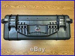 Pelican 1520 Custom Knife Storage/carry Case By Nalpak Holds 55 Knives