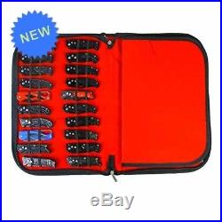 Pocket Knife Storage Case, Folding Knife Storage Pouch Carrier Holder, PU Leathe