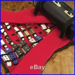 Professional 50 Folding Pocket Knife Roll Collection Storage Display Case New
