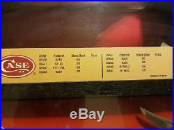 RARE! CASE XX RUGER 8 KNIFE STORE DISPLAY WithKEYS & BOXES