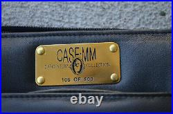 RARE CaseXX CASE MM Leather Storage Case 51 Knives #106 of 500 MINTY