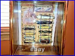 REPLICA 1950's Hardware Store knife Display Case Handmade New REPLICA