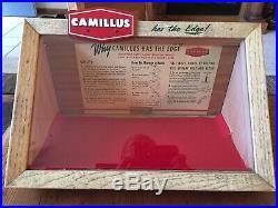 Rare Vintage 1946 Camillus Store Knife Display Case