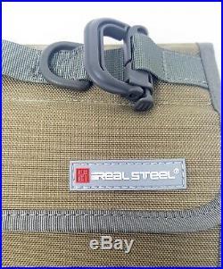 Real Steel Knives Pilgrim Knife Case Bag Storage Collection Coyote