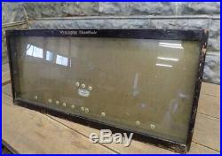 Remington Kleanblade Display Case, Vintage Pocket Knife Showcase, Store Display