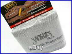 Sack Ups AC807 Cotton Knife Roll Protector Storage Case Holds 18 Knives