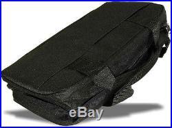 Safe & Sound Storage Brief Case Folding 22 Pocket Knife Black