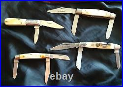 Sales /storage case, 24 Vintage Folding Knives, Wild Turkey, Manzor, Barlow