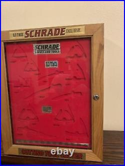 Schrade Knives & Tools Uncle Henry Old Timer Store Display Case Storage- No Key
