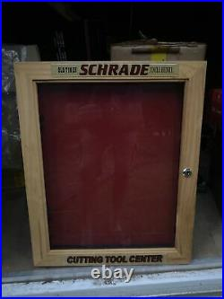 Schrade Knives & Tools Uncle Henry Old Timer Store Display Case Taylor With Keys