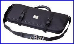 Single-Zip 12-Pocket Knife Case Storage Bag Chef Carrying Protector Travel Roll