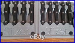 Slitzer 17 Piece Cutlery Kitchen Cooking Chef Knife Set With Storage Case